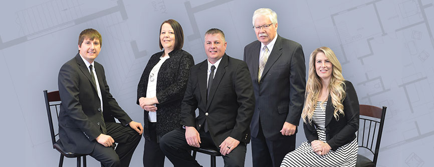 ISB Services, Inc. agents group photo | Our Agents page | Sheldon, Iowa | Northwest Iowa Real Estate Company
