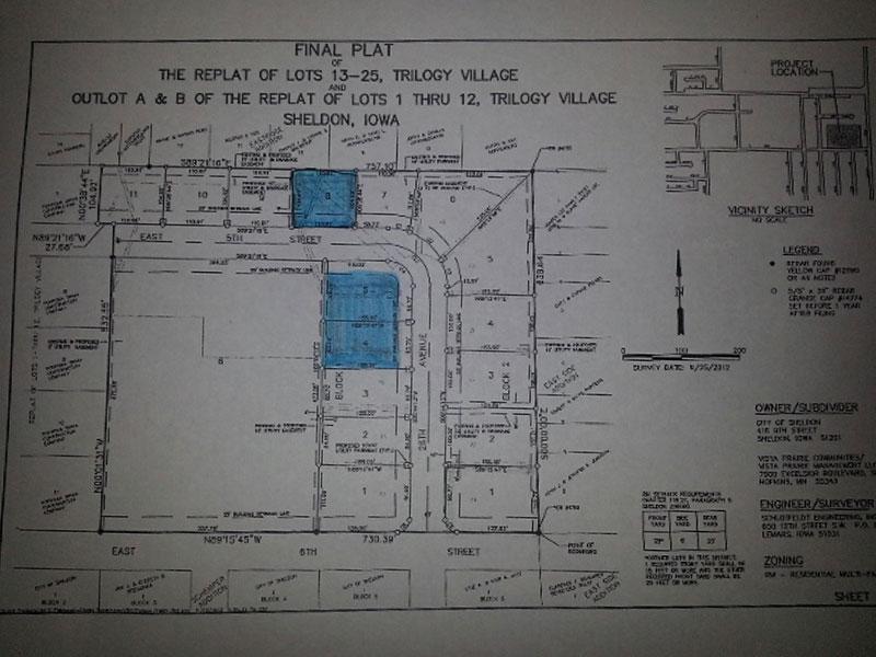 Trilogy Village | Sheldon, Iowa | ISB Listings page | Northwest Iowa Real Estate Company